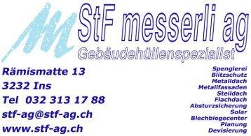 StF messerli ag | Gebäudehüllenspezialist