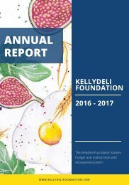 KellyDeli Foundation - Annual Report (2016/17)