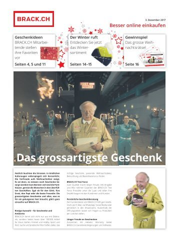 BRACK.CH Sonderbund Sonntagsblick Dezember 2017