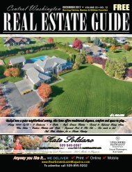 Central Washington Real Estate Guide Magazine  Dec  17