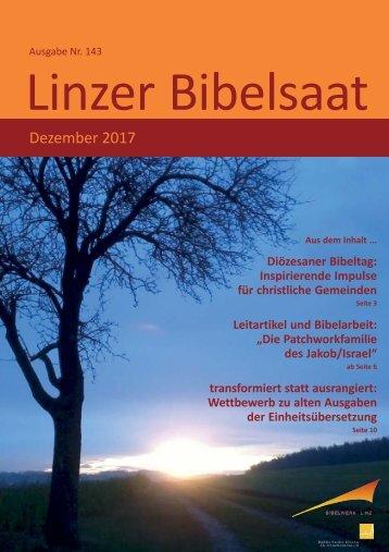 Linzer Bibelsaat (Nr. 143, Dezember 2017)