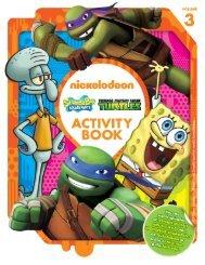 Nickelodeon Activity Book