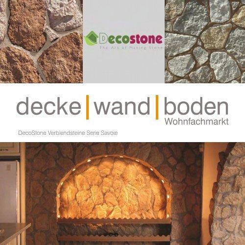 Mathios DecoStone Serie Savoie Verblendsteine