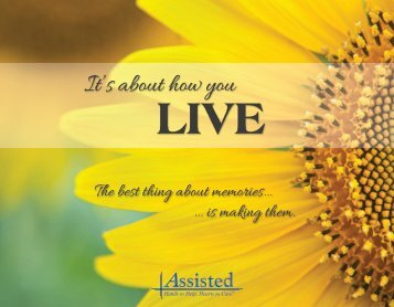 Hospice and Palliative Care Month | Assisted Memory Book