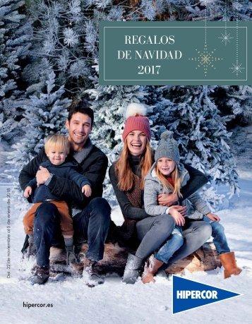 Hipercor Regalos de Navidad del 22 de Noviembre al 5 de Enero 2018