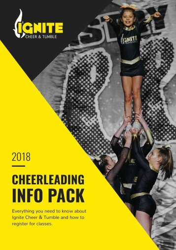 Ignite Cheer & Tumble Competitive Info Pack 2018