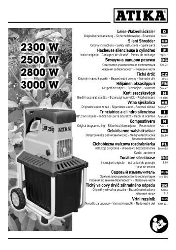 Kompostkvern - Atika