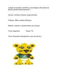 Colegio de estudios científicos y tecnológicos del estado de México plantel Nezahualcóyotl II