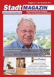Stadtmagazin für Siegburg, Lohmar und Neunkirchen-Seelscheid, Ausgabe 11 / Dezember 2017