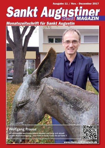 Sankt Augustiner Stadtmagazin, Ausgabe 11/ Dezember 2017