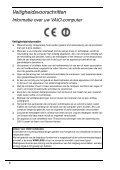 Sony VPCF13B4E - VPCF13B4E Documents de garantie Néerlandais - Page 6