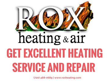 Get Excellent Heating And Repair Service