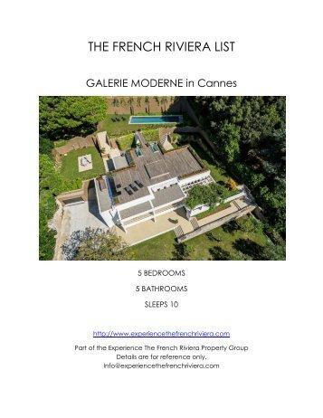 Galerie Moderne - Cannes