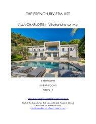 Villa Charlotte - Villefranche-sur-Mer