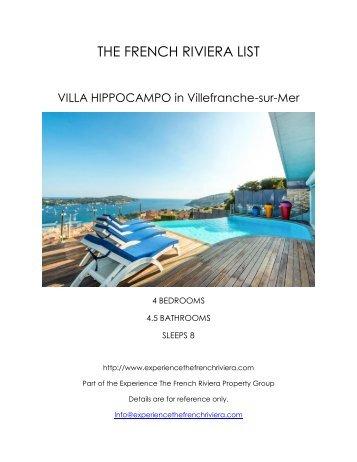 Villa Hippocampo - Villefranche-sur-Mer