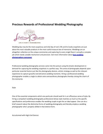 6 local wedding photographers