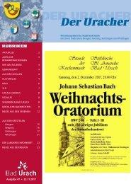 Der Uracher KW 47-2017