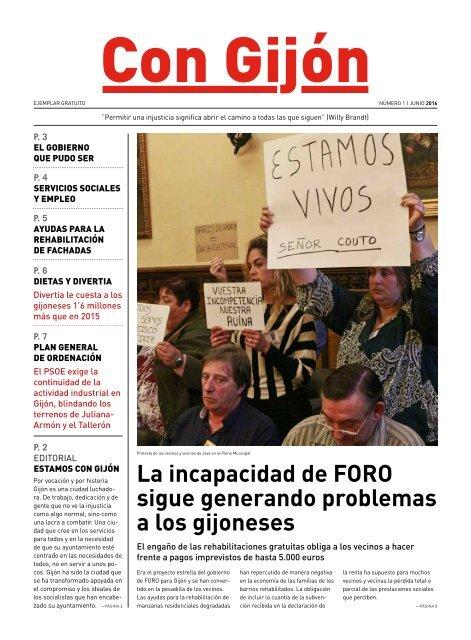 Con Gijón - Nº 1: Junio 2016
