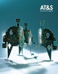 Annual Report 2008/09 - AT&S