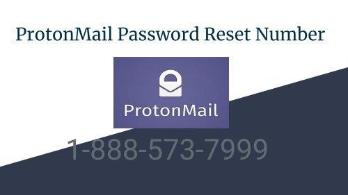 ProtonMail Password Reset Number