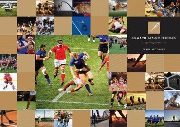 Edward Taylor Textiles Ltd Trade Brochure