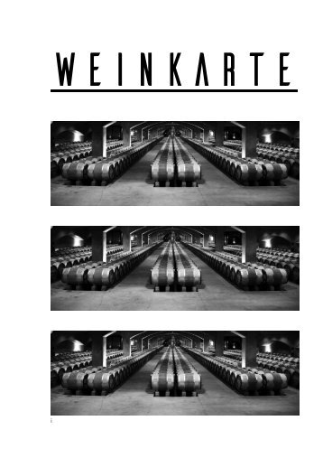 Weinkarte Restaurant No Name Chur