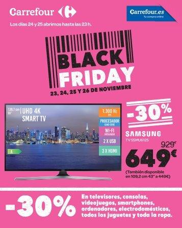 Carrefour Folleto Black Friday hasta 26 de Noviembre 2017
