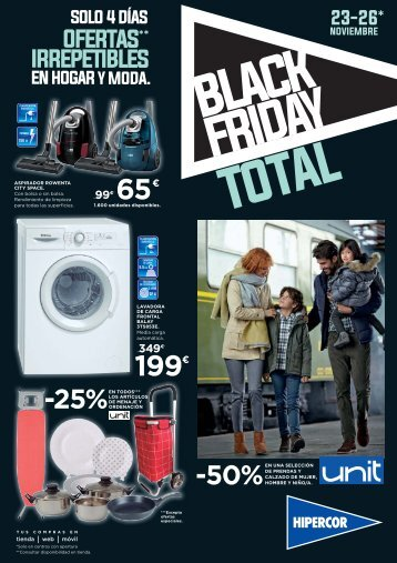 Folleto Hipercor BLACK FRIDAY TOTAL hasta 26 de Noviembre 2017