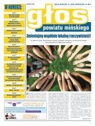 Głos Powiatu Mińskiego nr 3 Lipiec-Sierpień 2017