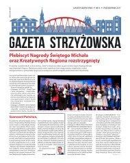 Gazeta Strzyżowska nr 4 Październik 2017