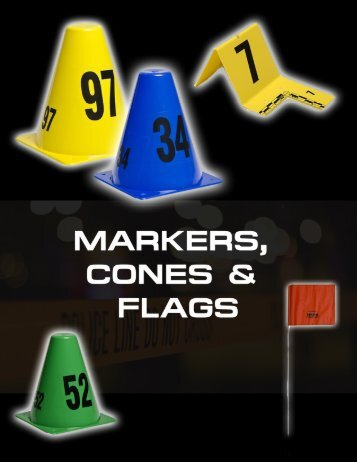 Markers Cones and Flags