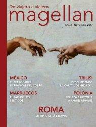 Revista de viajes Magellan - Noviembre 2017