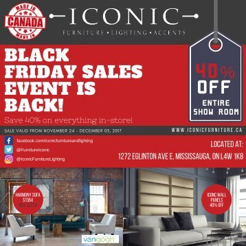 ICONIC FURNITURE - BLACK FRIDAY - FINAL 2