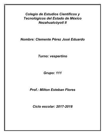 Colegio de Estudios Científicos y Tecnológicos del Estado de México Nezahualcóyotl II