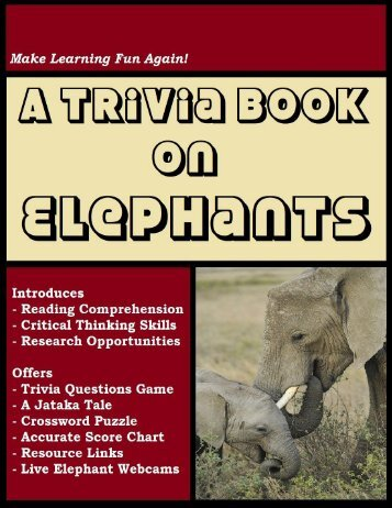 A Trivia Book on Elephants