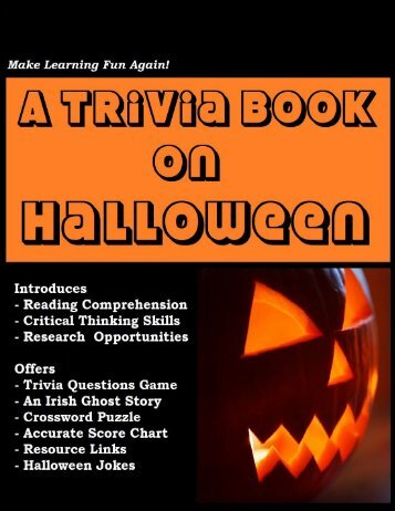 A Trivia Book on Halloween