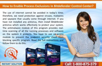 How to Enable Process Exclusions in Bitdefender Control Center?