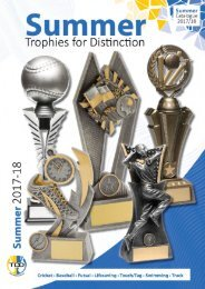 2017-18 Summer Trophies for Distinction