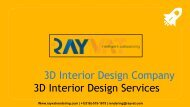 3D Interior Design Company | 3D Interior Design Services