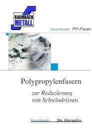 PP-Faser - Baumbach Metall GmbH