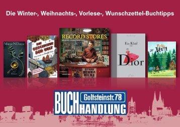 Die Winter-, Weihnachts-, Vorlese-, Wunschzettel-Buchtipps 2017