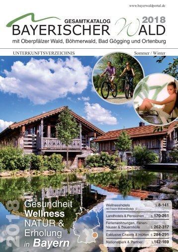 Gesamtkatalog Bayerischer Wald 2018