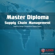 Master Diploma Supply Chain Management