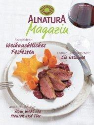 Alnatura Magazin - Dezember 2017