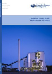 biomass power plant eberswalde, germany - Standardkessel ...