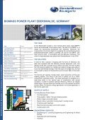 biomass power plant eberswalde, germany - Standardkessel ... - Page 2
