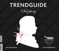 Trendguide Salzburg Vol. 14