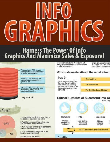 Infographics Guide - How To Use Infographics