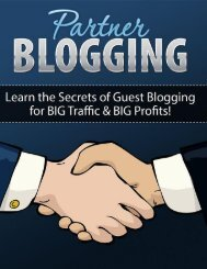 Partner Blogging Guide - How To Do Guest Blogging