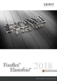 Rowi Catalogue 2018